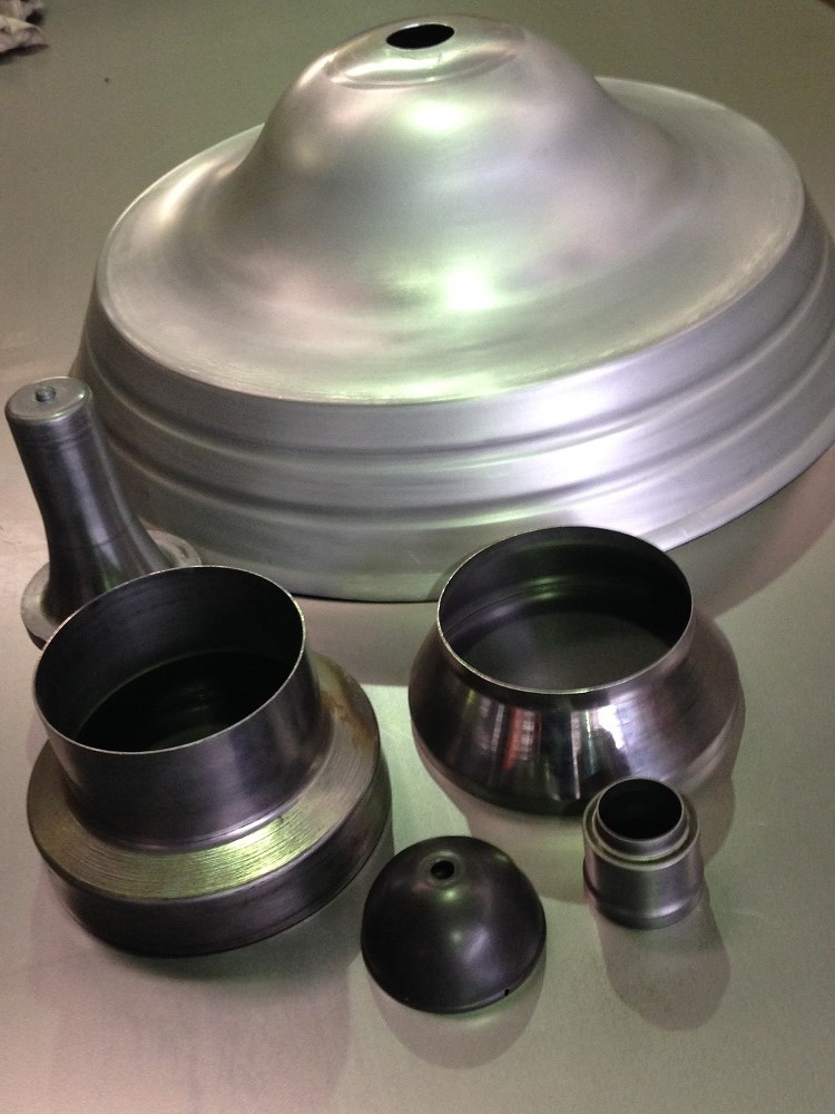 A wide variety of parts fabricated using metal parts